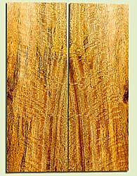 """MGES17267 - Mango, Solid Body Guitar or Bass Drop Top Set, Excellent Curl, Urban Salvage, Air Dried for Excellent Colors, Eco-FriendlyLuthier Tonewood, 2 panels each 0.24"""" x 8"""" x 22"""", S1S"""