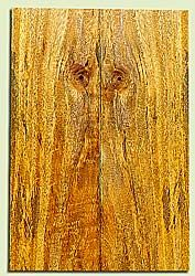 """MGES17273 - Mango, Solid Body Guitar or Bass Fat Drop Top Set, Very Good Figure, Urban Salvage, Air Dried for Excellent Colors, Eco-FriendlyLuthier Tonewood, 2 panels each 0.4"""" x 7.5"""" x 22"""", S1S"""
