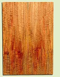 """MGES17802 - Mango, Solid Body Guitar Drop Top Set, Very Good Figure, TT Urban Salvage/ Salvaged from the Big Island of Hawaii, Air Dried for Excellent Color, Eco-FriendlyGuitar Wood, 2 panels each 0.25"""" x 7.375"""" x 21.5"""", S1S"""