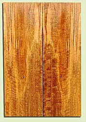 """MGES17805 - Mango, Solid Body Guitar or Bass Drop Top Set, Very Good Figure, TT Urban Salvage/ Salvaged from the Big Island of Hawaii, Air Dried for Excellent Color, Eco-FriendlyGuitar Wood, 2 panels each 0.25"""" x 7.375"""" x 22"""", S1S"""