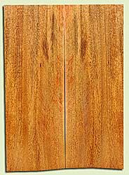 """MGES17819 - Mango, Solid Body Guitar Bass Drop Top Set, Air Dried, Excellent Color& Contrast, OutstandingGuitar Wood, Salvaged from the Big Island of Hawaii, 2 panels each 0.25"""" x 7.37"""" x 21"""", S2S"""
