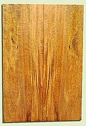 """MGES17821 - Mango, Solid Body Guitar Bass Drop Top Set, Air Dried, Excellent Color& Curl, OutstandingGuitar Wood, Salvaged from the Big Island of Hawaii, 2 panels each 0.25"""" x 7.5"""" x 22"""", S2S"""