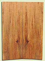 """MGES17824 - Mango, Solid Body Guitar or Bass Drop Top Set, Air Dried, Excellent Color& Curl, OutstandingGuitar Wood, Salvaged from the Big Island of Hawaii, 2 panels each 0.25"""" x 7.5"""" x 21.5"""", S2S"""
