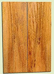 """MGES17825 - Mango, Solid Body Guitar or Bass Drop Top Set, Air Dried, Excellent Color& Curl, OutstandingGuitar Wood, Salvaged from the Big Island of Hawaii, 2 panels each 0.2"""" x 7.5"""" x 21.75"""", S2S"""