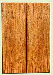 """MGES17827 - Mango, Solid Body Guitar or Bass Drop Top Set, Air Dried, Excellent Color& Curl, OutstandingGuitar Wood, Salvaged from the Big Island of Hawaii, 2 panels each 0.19"""" x 7.5"""" x 22"""", S2S"""
