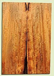 """MGES17828 - Mango, Solid Body Guitar or Bass Drop Top Set, Air Dried, Very Good Color& Curl, OutstandingGuitar Wood, Salvaged from the Big Island of Hawaii, 2 panels each 0.2"""" x 7.5"""" x 21.75"""", S2S"""