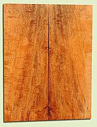 """MGES17829 - Mango, Solid Body Guitar Drop Top Set, Air Dried, Good Color& Curl, OutstandingGuitar Wood, Salvaged from the Big Island of Hawaii, 2 panels each 0.21"""" x 7.25"""" x 20"""", S2S"""