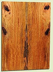 """MGES17831 - Mango, Solid Body Guitar or Bass Drop Top Set, Air Dried, Excellent Color& Curl, OutstandingGuitar Wood, Salvaged from the Big Island of Hawaii, 2 panels each 0.2"""" x 7.5"""" x 20.75"""", S2S"""
