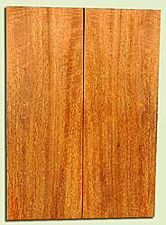 """MGES17834 - Mango, Solid Body Guitar or Bass Drop Top Set, Air Dried, Very Good Color& Curl, OutstandingGuitar Wood, Salvaged from the Big Island of Hawaii, 2 panels each 0.21"""" x 7.5"""" x 21"""", S2S"""