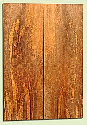 """MGES17837 - Mango, Solid Body Guitar or Bass Drop Top Set, Air Dried, Very Good Color& Curl, OutstandingGuitar Wood, Salvaged from the Big Island of Hawaii, 2 panels each 0.23"""" x 7.5"""" x 22"""", S2S"""