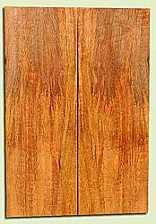 """MGES17838 - Mango, Solid Body Guitar or Bass Drop Top Set, Air Dried, Good Color& Curl, OutstandingGuitar Wood, Salvaged from the Big Island of Hawaii, 2 panels each 0.23"""" x 7.5"""" x 21.5"""", S2S"""