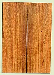 """MGES17842 - Mango, Solid Body Guitar or Bass Drop Top Set, Air Dried, Good Color& Contrast, OutstandingGuitar Wood, Salvaged from the Big Island of Hawaii, 2 panels each 0.23"""" x 7.25"""" x 22"""", S2S"""