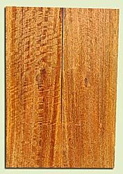 """MGES17843 - Mango, Solid Body Guitar or Bass Drop Top Set, Air Dried, Excellent Color& Curl, OutstandingGuitar Wood, Salvaged from the Big Island of Hawaii, 2 panels each 0.23"""" x 7.5"""" x 22"""", S2S"""