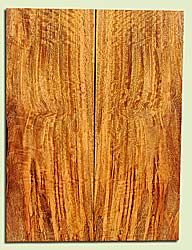 """MGES17844 - Mango, Solid Body Guitar Drop Top Set, Air Dried, Very Good Color& Curl, OutstandingGuitar Wood, Salvaged from the Big Island of Hawaii, 2 panels each 0.25"""" x 7.37"""" x 19.75"""", S2S"""