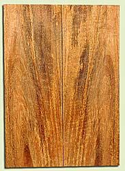 """MGES17845 - Mango, Solid Body Guitar or Bass Drop Top Set, Air Dried, Very Good Color& Curl, OutstandingGuitar Wood, Salvaged from the Big Island of Hawaii, 2 panels each 0.24"""" x 7.37"""" x 21"""", S2S"""