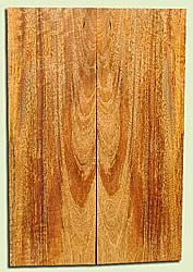 """MGES17850 - Mango, Solid Body Guitar or Bass Drop Top Set, Air Dried, Very Good Color& Curl, OutstandingGuitar Wood, Salvaged from the Big Island of Hawaii, 2 panels each 0.25"""" x 7.25"""" x 22"""", S2S"""