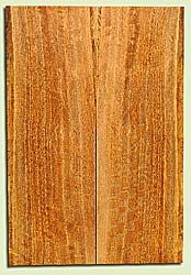 """MGES17851 - Mango, Solid Body Guitar or Bass Drop Top Set, Air Dried, Excellent Color& Curl, OutstandingGuitar Wood, Salvaged from the Big Island of Hawaii, 2 panels each 0.25"""" x 7.5"""" x 22"""", S2S"""
