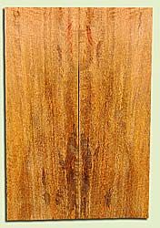 """MGES17855 - Mango, Solid Body Guitar or Bass Drop Top Set, Air Dried, Excellent Color& Curl, OutstandingGuitar Wood, Salvaged from the Big Island of Hawaii, 2 panels each 0.25"""" x 7.5"""" x 22"""", S2S"""