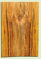 """MGES17857 - Mango, Solid Body Guitar or Bass Drop Top Set, Air Dried, Good Color& Curl, OutstandingGuitar Wood, Salvaged from the Big Island of Hawaii, 2 panels each 0.25"""" x 7.5"""" x 21.75"""", S2S"""