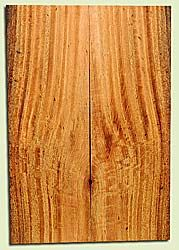 """MGES17861 - Mango, Solid Body Guitar or Bass Drop Top Set, Air Dried, Very Good Color& Curl, OutstandingGuitar Wood, Salvaged from the Big Island of Hawaii, 2 panels each 0.24"""" x 7.5"""" x 21.75"""", S2S"""