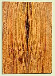 """MGES17862 - Mango, Solid Body Guitar or Bass Drop Top Set, Air Dried, Very Good Color& Curl, OutstandingGuitar Wood, Salvaged from the Big Island of Hawaii, 2 panels each 0.24"""" x 7.5"""" x 21.75"""", S2S"""