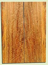 """MGES17864 - Mango, Solid Body Guitar Drop Top Set, Air Dried, Good Color& Curl, OutstandingGuitar Wood, Salvaged from the Big Island of Hawaii, 2 panels each 0.28"""" x 7.5"""" x 21"""", S2S"""
