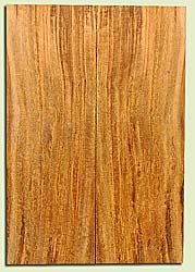 """MGES17867 - Mango, Solid Body Guitar or Bass Drop Top Set, Air Dried, Very Good Color& Curl, OutstandingGuitar Wood, Salvaged from the Big Island of Hawaii, 2 panels each 0.26"""" x 7.5"""" x 22"""", S2S"""