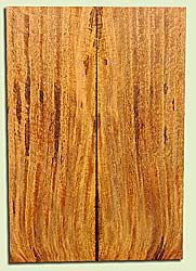 """MGES17869 - Mango, Solid Body Guitar or Bass Drop Top Set, Air Dried, Excellent Color& Curl, OutstandingGuitar Wood, Salvaged from the Big Island of Hawaii, 2 panels each 0.28"""" x 7.5"""" x 22"""", S2S"""