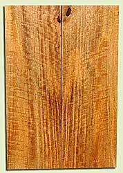 """MGES17873 - Mango, Solid Body Guitar or Bass Drop Top Set, Air Dried, Very Good Color& Curl, OutstandingGuitar Wood, Salvaged from the Big Island of Hawaii, 2 panels each 0.26"""" x 7.37"""" x 21.75"""", S2S"""