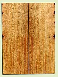 """MGES17875 - Mango, Solid Body Guitar Drop Top Set, Air Dried, Very Good Color& Curl, OutstandingGuitar Wood, Salvaged from the Big Island of Hawaii, 2 panels each 0.24"""" x 7.37"""" x 20"""", S2S"""