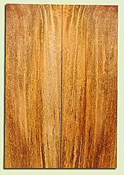 """MGES17877 - Mango, Solid Body Guitar or Bass Drop Top Set, Air Dried, Very Good Color& Curl, OutstandingGuitar Wood, Salvaged from the Big Island of Hawaii, 2 panels each 0.24"""" x 7.37"""" x 21.75"""", S2S"""