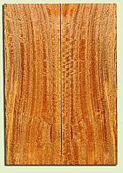 """MGES17879 - Mango, Solid Body Guitar or Bass Drop Top Set, Air Dried, Excellent Color& Curl, OutstandingGuitar Wood, Salvaged from the Big Island of Hawaii, 2 panels each 0.24"""" x 7.5"""" x 21.75"""", S2S"""