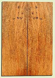 """MGES17881 - Mango, Solid Body Guitar or Bass Drop Top Set, Air Dried, Very Good Color& Contrast, OutstandingGuitar Wood, Salvaged from the Big Island of Hawaii, 2 panels each 0.23"""" x 7.37"""" x 22"""", S2S"""