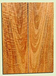 """MGES17882 - Mango, Solid Body Guitar or Bass Drop Top Set, Air Dried, Very Good Color& Curl, OutstandingGuitar Wood, Salvaged from the Big Island of Hawaii, 2 panels each 0.24"""" x 7.37"""" x 21"""", S2S"""