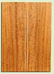 """MGES17883 - Mango, Solid Body Guitar or Bass Drop Top Set, Air Dried, Very Good Color& Curl, OutstandingGuitar Wood, Salvaged from the Big Island of Hawaii, 2 panels each 0.23"""" x 7.5"""" x 21"""", S2S"""