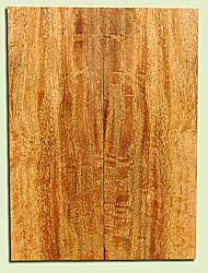 """MGES17884 - Mango, Solid Body Guitar Drop Top Set, Air Dried, Good Color& Curl, OutstandingGuitar Wood, Salvaged from the Big Island of Hawaii, 2 panels each 0.25"""" x 7.37"""" x 20"""", S2S"""