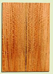 """MGES17886 - Mango, Solid Body Guitar or Bass Drop Top Set, Air Dried, Excellent Color& Curl, OutstandingGuitar Wood, Salvaged from the Big Island of Hawaii, 2 panels each 0.25"""" x 7.5"""" x 22"""", S2S"""