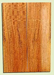 """MGES17892 - Mango, Solid Body Guitar or Bass Drop Top Set, Air Dried, Very Good Color& Curl, OutstandingGuitar Wood, Salvaged from the Big Island of Hawaii, 2 panels each 0.26"""" x 7.5"""" x 21.75"""", S2S"""
