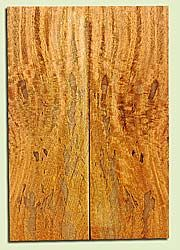 """MGES17899 - Mango, Solid Body Guitar or Bass Drop Top Set, Air Dried, Excellent Color& Contrast, OutstandingGuitar Wood, Salvaged from the Big Island of Hawaii, 2 panels each 0.21"""" x 7.37"""" x 22"""", S2S"""