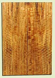 """MGES17904 - Mango, Solid Body Guitar or Bass Drop Top Set, Air Dried, Very Good Color& Curl, OutstandingGuitar Wood, Salvaged from the Big Island of Hawaii, 2 panels each 0.2"""" x 7.5"""" x 22"""", S2S"""