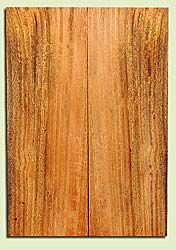 "MGES17912 - Mango, Solid Body Guitar or Bass Fat Drop Top Set, Air Dried for Excellent Colors, Very Good Color & Curl, Stellar Eco Friendly Guitar Wood, Salvaged from the Big Island of Hawaii, 2 panels each 0.31"" x 7.5"" x 21.75"", S2S"