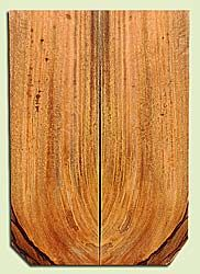 """MGES17917 - Mango, Solid Body Guitar or Bass Drop Top Set, Air Dried, Very Good Color& Curl, OutstandingGuitar Wood, defect falls outside layout, 2 panels each 0.29"""" x 7.5"""" x 22"""", S2S"""