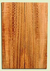 """MGES17918 - Mango, Solid Body Guitar or Bass Drop Top Set, Air Dried, Very Good Color& Curl, OutstandingGuitar Wood, defect falls outside layout, 2 panels each 0.28"""" x 7.37"""" x 22"""", S2S"""