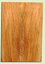 "MGES17919 - Mango, Solid Body Guitar or Bass Fat Drop Top Set, Air Dried for Excellent Colors, Excellent Color & Curl, Stellar Eco Friendly Guitar Wood, Salvaged from the Big Island of Hawaii, 2 panels each 0.43"" x 7.5"" x 21.75"", S2S"