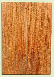 "MGES17921 - Mango, Solid Body Guitar or Bass Fat Drop Top Set, Air Dried for Excellent Colors, Good Color & Curl, Stellar Eco Friendly Guitar Wood, Salvaged from the Big Island of Hawaii, 2 panels each 0.39"" x 7.25"" x 22"", S2S"