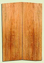 "MGES17922 - Mango, Solid Body Guitar or Bass Fat Drop Top Set, Air Dried for Excellent Colors, Good Color & Curl, Stellar Eco Friendly Guitar Wood, Salvaged from the Big Island of Hawaii, 2 panels each 0.4"" x 7.5"" x 22"", S2S"