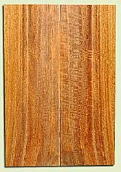 "MGES17924 - Mango, Solid Body Guitar or Bass Fat Drop Top Set, Air Dried for Excellent Colors, Very Good Color & Curl, Stellar Eco Friendly Guitar Wood, Salvaged from the Big Island of Hawaii, 2 panels each 0.43"" x 7.5"" x 22"", S2S"