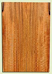 """MGES17931 - Mango, Solid Body Guitar or Bass Fat Drop Top Set, Air Dried for Excellent Colors, Very Good Color& Curl, Eco Friendly Guitar Wood, Salvaged from the Big Island of Hawaii, 2 panels each 0.4"""" x 7.5"""" x 22"""", S2S"""