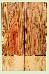 "PIES17953 - Pistachio, Solid Body Guitar or Bass Drop Top Set, Salvaged from Commercial Grove, Excellent Color & Contrast, Premium Guitar Wood, 2 panels each 0.2"" x 7"" x 22"", S2S"