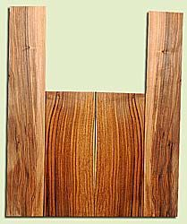 """WAAS17992 - Claro Walnut, Acoustic Guitar Back & Side Set, Classical size, Salvaged from Commercial Grove, Good Color& Contrast, StellarLuthier Wood, 2 panels each 0.16"""" x 7.6"""" x 19.6"""", S2S, and 2 panels each 0.18"""" x 5.6"""" x 32.6"""", S2S"""